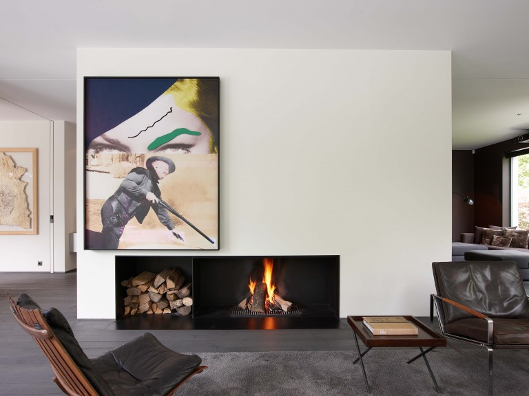 Metalfire Universal wood fireplace_open hout haard_ made to measure