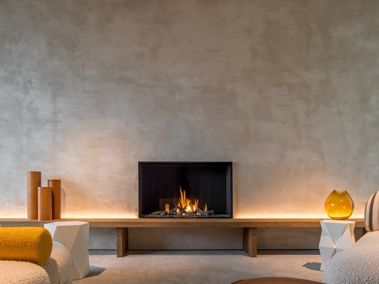 Metalfire Urban open gas fireplace made to measure_Gashaard